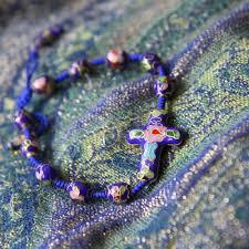 rosary bracelet rosary decade bracelet danielle