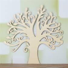 30x28 5cm wooden tree shape decoration diy wood tree decor for