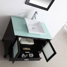 graceful design idea of bathroom vanities with tops made of white