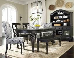 sharlowe dining room set w bench signature design furniture