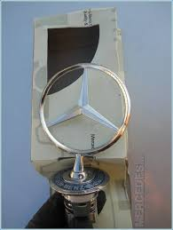 how to replace emblem ornament mercedes diy with pictures