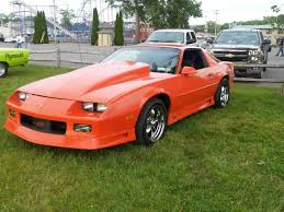 1992 camaro rs for sale chevrolet camaro coupe 1992 orange for sale 1g1fp23e8nl122421