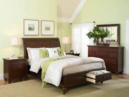 bedroom decorating dark green walls inspirations and ideas light