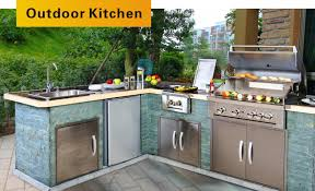 stainless steel outdoor kitchen cabinets stainless steel outdoor bbq kitchen playmaxlgc com