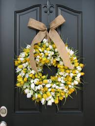 spring door wreaths tulips front door wreath door wreaths spring tulips mother s day