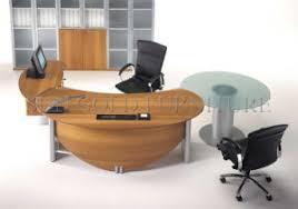 bureau rond tableau exécutif demi rond tableau de bureau de gestionnaire