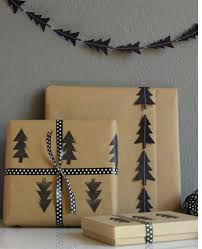 black christmas wrapping paper simple wrap easy to incorporate other silhouettes this
