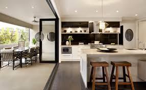 alfresco kitchen designs indoor outdoor dining wide format bifold doors by a u0026l bifold