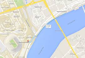 Neyland Stadium Map A View Of Your Boat Sailgating Vol Navy Boaters Association