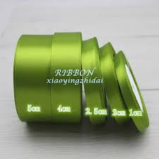 green satin ribbon 1 5cm green single satin ribbon wholesale gift packing