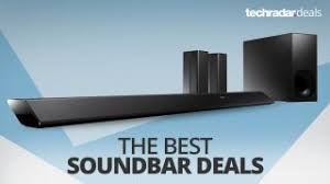 the best cheap soundbar deals in december 2017 techradar
