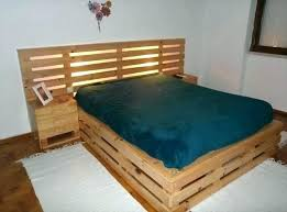 Air Mattress With Headboard Air Mattress With Headboard Raised Pallet Bed With Headboard