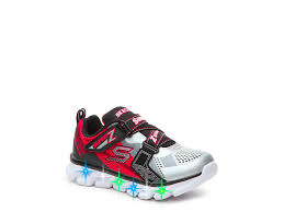 skechers red light up shoes skechers hypno flash youth light up sneaker kids shoes dsw