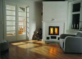 living room modern wood burning fireplace inserts with brown