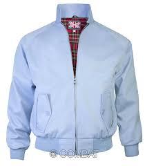 light blue jacket mens light blue harrington jacket the original mens harrington jacket