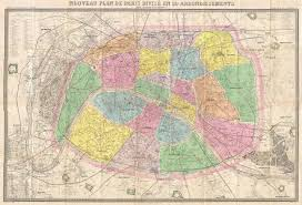 Map Paris France by File 1878 Logerot Map Of Paris France Geographicus Paris