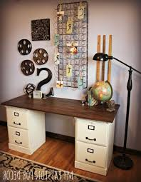 Mission Style File Cabinet Small Home Office Hacks And Storage Ideas Diy With Regard To