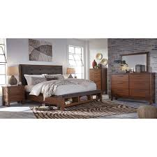 Ashley Porter Panel Bedroom Set by Bedroom Panel Bed Queen 6 Drawer Media Chest Porter Dining Table