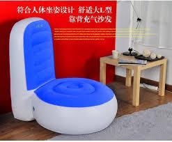 lazy recliner l shape inflatable sofa living room furniture u2013 woogoing