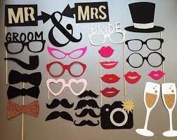 wedding photo booth ideas wedding photo booth prop photo booth props set of 30