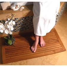 Teak Shower Mat Wine Cork Bath Mat With A Subtle Pattern Medium Size Of Shower
