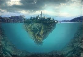 slovenia lake floating island in lake bled slovenia take me there pinterest