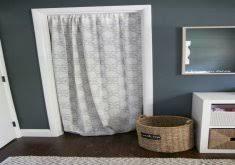 marvelous closet curtain ideas closet more home design