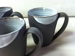 handmade mugs coffee mugs shabby chic rustic tea white