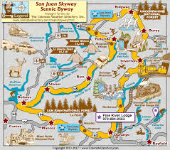 scenic byway san juan skyway scenic byway map colorado vacation directory