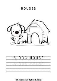 dog house coloring pages free worksheets coloring pages thelittleladybird com