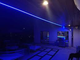 blue led strip lights 12v residential led strip lighting projects from flexfire leds