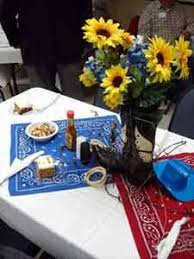 fun party ideas western parties western party centerpieces and