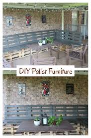 Pallet Furniture Patio by 88 Best Things To Do With Pallets Images On Pinterest Pinterest