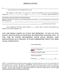sle eviction notice maine printable sle eviction notice texas form real estate forms word