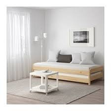 Fyresdal Ikea Utåker Stackable Bed Pine Spare Bed Mattress And Pine