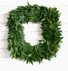 bay leaf wreath fresh bay leaf wreaths mcfadden farm