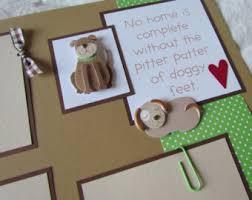 Dog Scrapbook Album Dog Scrapbook Etsy
