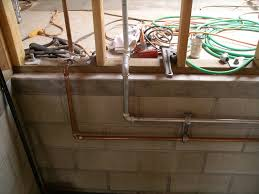 Plumbing A New House Home Remodeling Step By Step Step 19 Plumbing Part 1