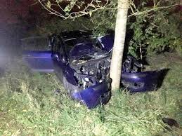 child seriously injured after car crashes into tree warrington