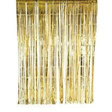 Glitter Backdrop Gold Foil Glitter Curtain 2m X 2m Wedding Party Backdrop Ebay