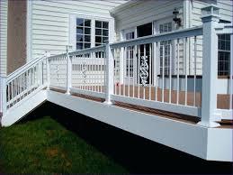 outdoor stair railing designs ideas wonderful simple deck steel