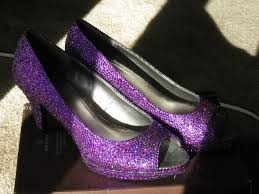 Wedding Shoes Purple Let U0027s See Some Sparkley Rhinestoned Strassed Wedding Shoes