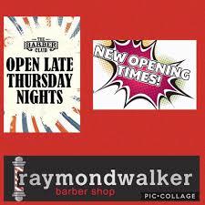 raymond walker barber shop home facebook