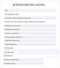 sample weekly agenda undated weekly agenda