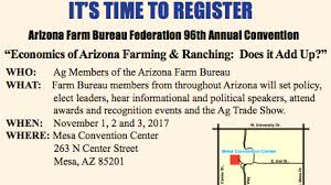 az bureau arizona farm bureau s annual meeting 2017 arizona agricultural