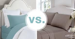 cotton vs linen sheets flannel sheets vs cotton sheets overstock com