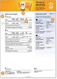 Calculate Electricity Bill Edf Energy Bill Explained Myutilitygenius