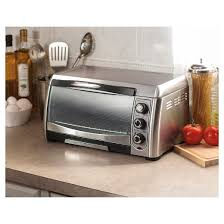 Rating Toaster Ovens Hamilton Beach 6 Slice Convection Toaster Oven Stainless Steel