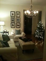 living room decorating with christmas lights for excellent at and living room ideas fascinating glass crystal chandelier white fabric sectional couch feat rectangle tufted upholstered coffee