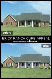adding curb appeal the blank slate brick ranch remodelaholic